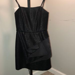 Strapless little black dress!
